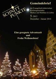 Ausgabe 5 | Dezember - Januar - Kirchenkreis Burgdorf