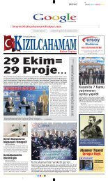 kızılcahamam haber postası gazetesi 22. sayı