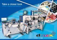 Take a closer look - Focus Label Machinery