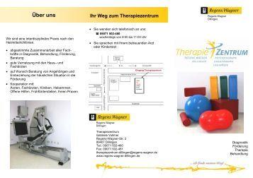 Physiotherapie, Ergotherapie, Logopädie - Therapiezentrum
