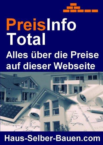 PDF Sofort-Download: Alles über die Preise auf - Haus Selber Bauen