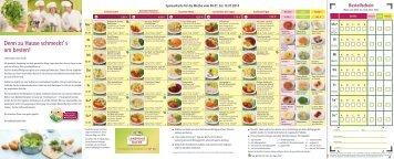 Speisenkarte vom 06.01. - 12.01.2014 - Landhausküche