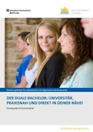 Der Duale Bachelor - ADG Business School