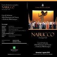 NABUCCO - Comune di Limone sul Garda