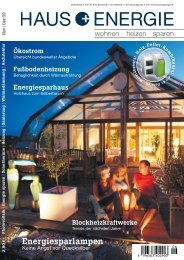 Wohnen Heizen Sparen - Bio-Solar-Haus