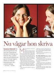 Läs också vårt porträtt av Susanna Alakoski från ... - Dagens Arbete