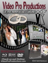 Video Pro-WEDDING PRICE LIST-2.psd - Video Pro Productions