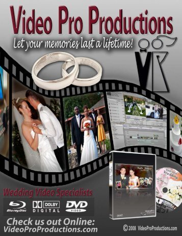 Video Pro-WEDDING PRICE LIST-2.psd - Video Pro Productions