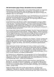 Mit Stricknadeln gegen Stress: Handarbeit wird neu ... - Apoplexy.de