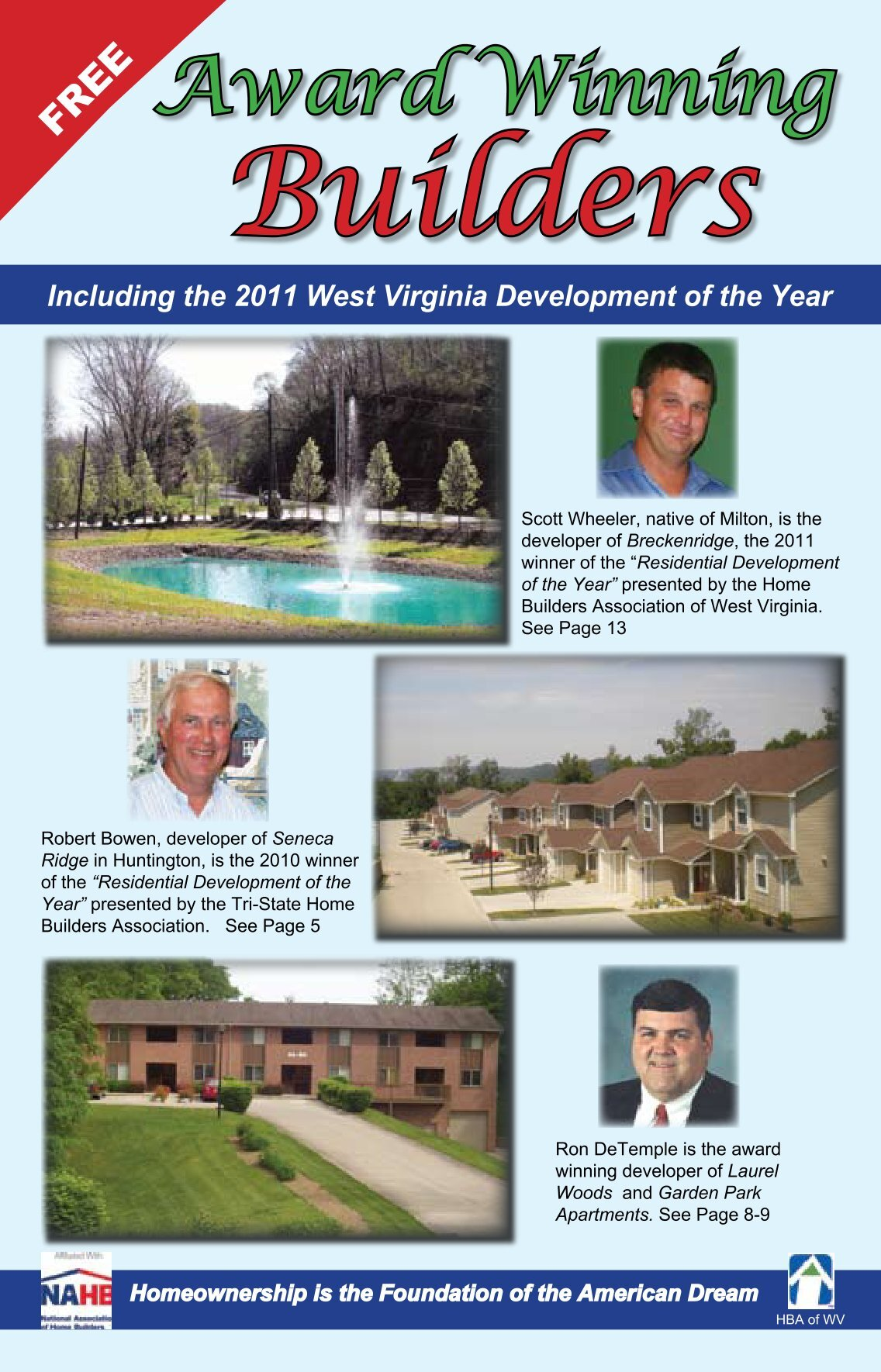 9 free magazines from homeswvohky com for Home builder magazine