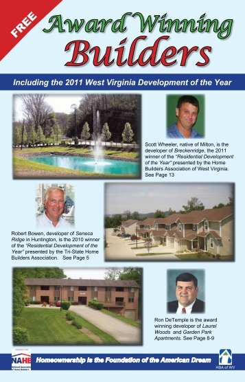 Award Winning Builders - Homes Magazine