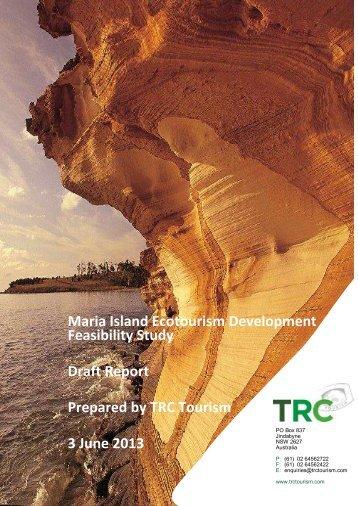 Maria Island Ecotourism Development Feasibility ... - TRC Tourism