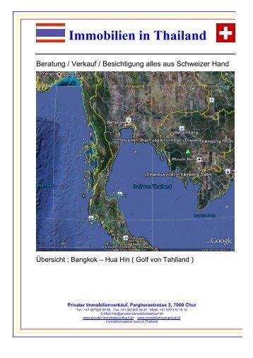 Immobilien in Thailand - Privater Immobilienverkauf Chur