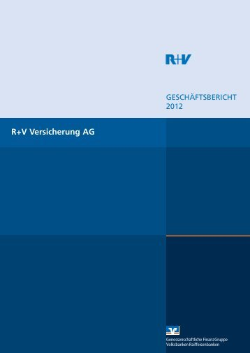 R+V Versicherung AG 2012 - Zur R+V24