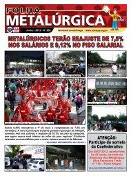 FolhaMetal 269 - Sindicato dos Metalúrgicos de Porto Alegre