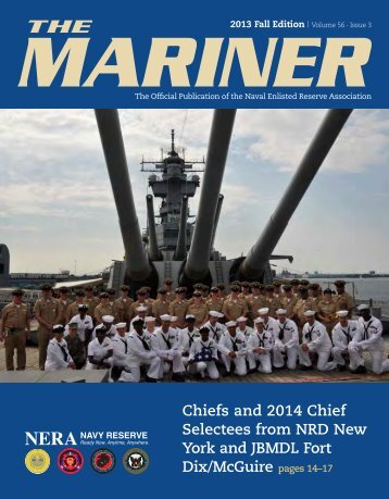 2013 Fall Mariner - Naval Enlisted Reserve Association