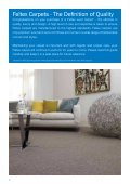 Download the Warranty, Care and Cleaning Guide - Feltex Carpets - Page 2