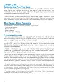 Download the Warranty, Care and Cleaning Guide - Feltex Carpets - Page 4