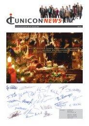 Kundenzeitschrift der IC Unicon AG