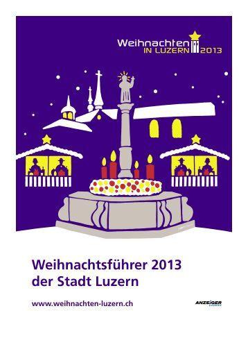 Anzeiger Luzern, Ausgabe WB, 20. November 2013