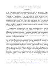 Matthew Parish Paper