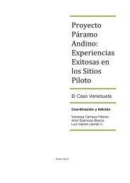EXPERIENCIAS EXITOSAS VENEZUELA 30-01-12 ... - Condesan