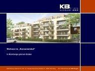 Muster-Vorlage PowerPoint-Präsentation KIB Wohnen GmbH & Co ...