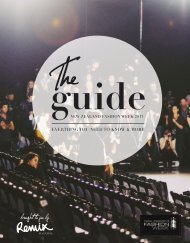 NZFW Guide - New Zealand Fashion Week