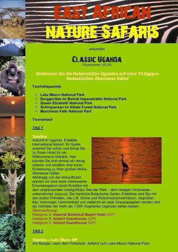 Gorillas, SCHIMPANSEN Und Wildlife - Uganda