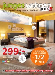 Komplett- Schlafzimmer - XXXL Möbelhäuser