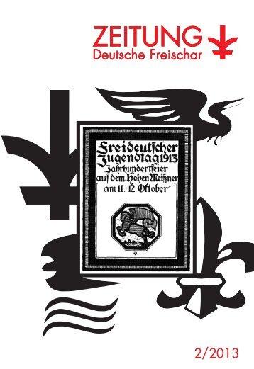 Die ZEITUNG 2/2013 als PDF - Deutsche Freischar