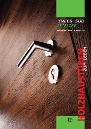 Holz-Haustüren Katalog - Kneer GmbH