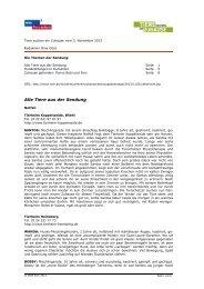 PDF zur Sendung vom 3. November 2013 - WDR