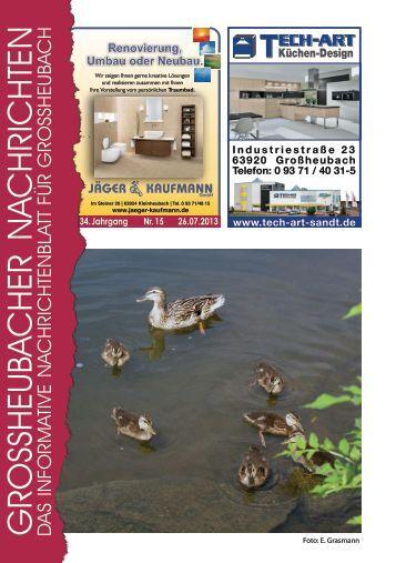 Großheubacher Nachrichten Ausgabe 15-2013 - STOPTEG Print ...