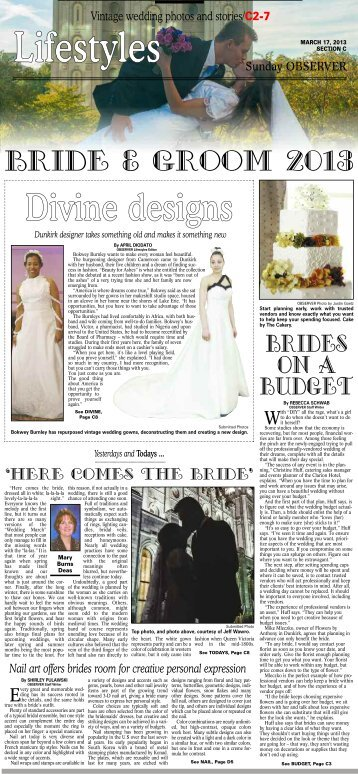 Bride And Groom - The Observer