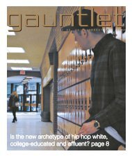 is the new archetype of hip hop white, college ... - The Gauntlet