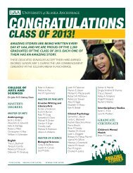 2013 Commencement Graduate List - Green & Gold News