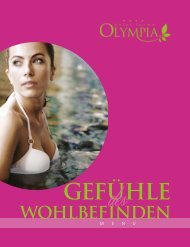 Laden Sie die Preisliste Wellness - Hotel Terme Olympia