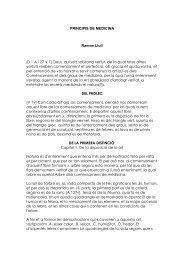 PRINCIPIS DE MEDICINA Ramon Llull [D 1 A 127 V 1] Deus, qui ...