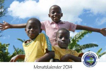 Kalender 2014 - Partnerschaft Gesunde Welt