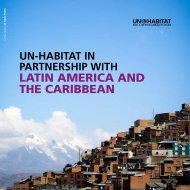 Latin america and the caribbean - UN-Habitat