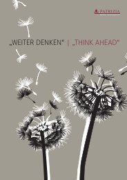 """WEITER DENKEN"" 