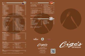 Speisekarte (PDF) - Cigo's