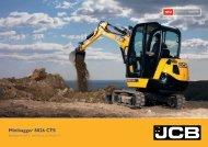 Minibagger 8026 CTS - JCB Baumaschine