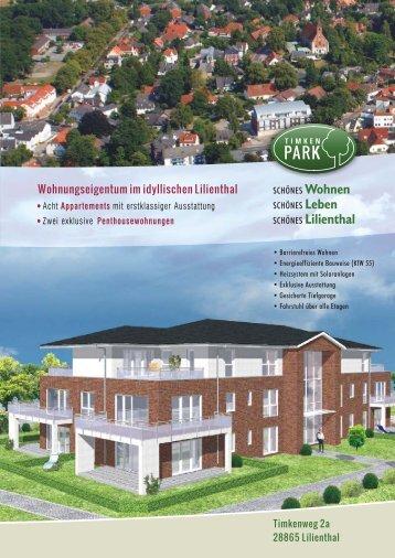 • Appartements Acht mit erstklassiger Ausstattung ... - Meenen Bau