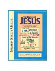 Names of Jesus Study Guide - Elmer Towns