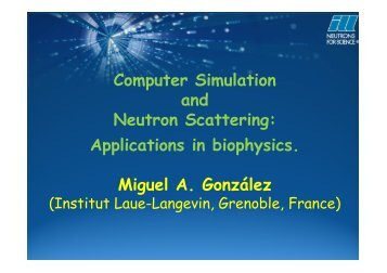 Computer Simulation an - SoNS – School of Neutron Scattering ...