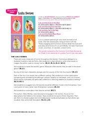 Lulu Common Core Teacher's Guide - Albert Whitman & Company