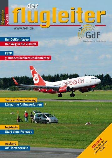 (oBFK) des Fachbereiches Flugsicherungs- Technische Dienste