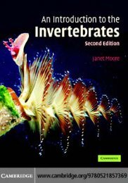 An Introduction to the Invertebrates, Second Edition - tiera.ru